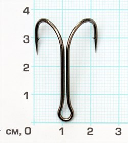 Двойник Скорпион 11041 №2/0 BN короткое цевье 1штука - фото 14576