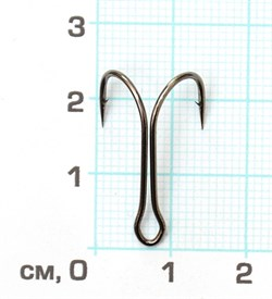 Двойник Скорпион 11041 №4 BN короткое цевье 1штука - фото 14577