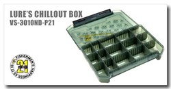 Коробка Pontoon21 Lures Chillout Box VS-3010ND-P21-BL  205x145x40 mm - фото 7050