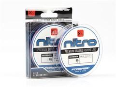 Плетеный шнур Forsage Nitro 8 Braid hard type 150 m 3 Color # 1