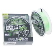 Плетеный шнур Norstream Absolute Game x8 fluo light green №1,2 16lb NBLA8-12130
