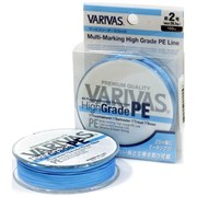Плетеный шнур Varivas High Grade PEx8 Ocean Blue 150м №1.2