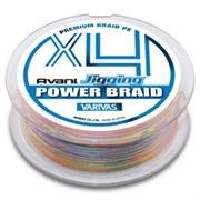 Плетеный шнур Varivas Avani Jigging Power Brade PEx4 200м №0.6