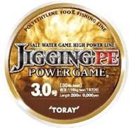 Плетеный шнур Toray Jiging Pe P-Game 200m №1,5