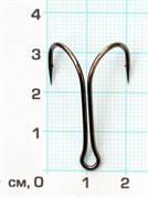Двойник Скорпион 11041 №1/0 BN короткое цевье 1штука