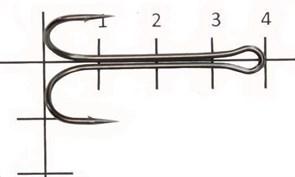 Двойник Saikyo Long Double Hook KH-11040-1/0