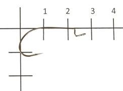 Офсетный крючок Varivas HOOKING MASTER LIGHT CLASS №3 (9шт.)