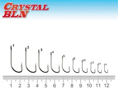 Крючок Fantom SW-1123-1 Crystal BLN Size: 10