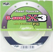 Плетеный шнур YGK G-soul X3 R SPORTS 150m  №1