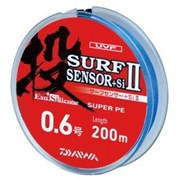 Плетеный шнур Daiwa PE SURF Sensor+Si 200m #2