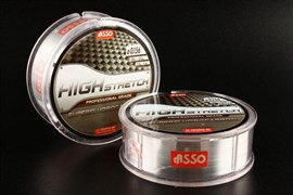 Флюорокарбон ASSO Fluorocarbon High Stretch 0.134mm 50m