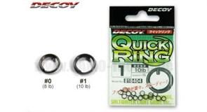 Заводные кольца Decoy QUICK RING #0